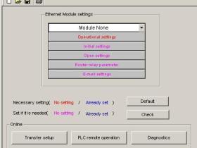 三菱以太网模块FX3U-ENET-L设置软件FX3U-ENET-L Configuration Tool 下载