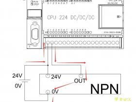 西门子PLC中NPN、PNP传感器的接线方式