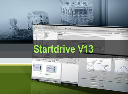 SINAMICS Startdrive V13 西门子变频调试软件下载