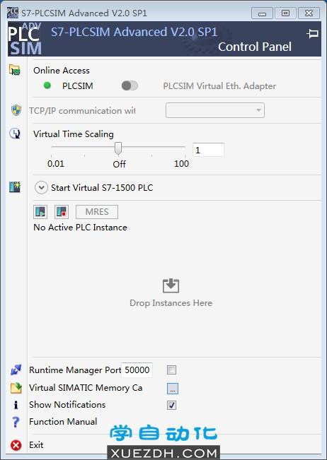 西门子S7-PLCSIM Advanced V2.0 SP1仿真软件
