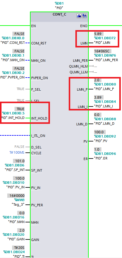 西门子PID功能块FB41(CONT_C)高级功能